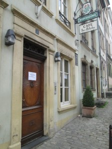 The Cafe des Artistes in Luxembourg