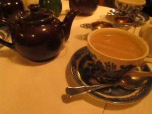Loose leaf Darjeeling at The Tea Caddy in Paris