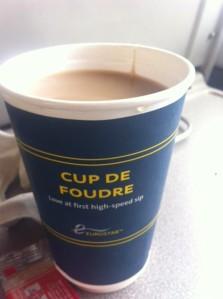 Tea on the Eurostar