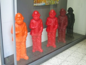 Marx gnomes in Trier