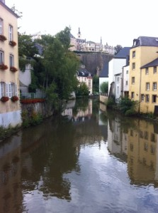 In the Grund in Luxembourg