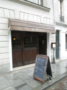 The Tea Caddy tea room in Paris