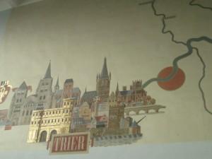 Trier Station mural