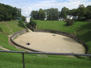 Roman amphitheatre in Trier
