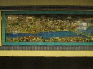 Mosaic at Istanbul metro airport