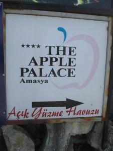 Apple Palace in Amasya