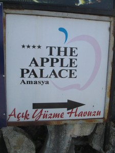 Apple Palace in Amasya