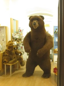 Steiff bear in Vienna