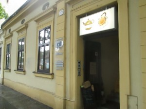 Cajovy Dom tea room in Bratislava