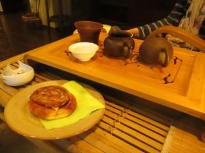 Tea at Cajovy Dom in Bratislava