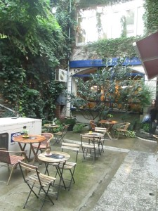 Caliban Coffee Shop in Tbilisi