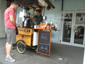 Captain Bean for coffee in Cluj