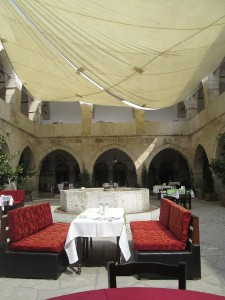 Courtyard of the Cinci Han caravanserai in Safranbolu