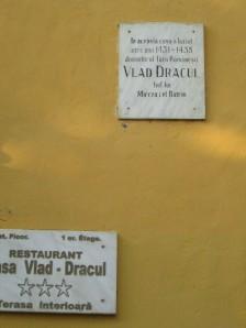 Vlad Dracula house in Sighisoara