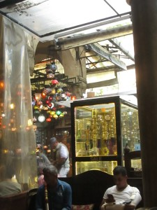Inside Erenler Tea Garden in Istanbul