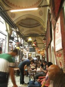 Erenler Tea Garden near the Grand Bazaar in Istanbul
