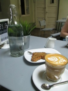 Fekete coffee shop in Budapest