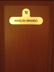 Marlon Brando room at Film Hotel