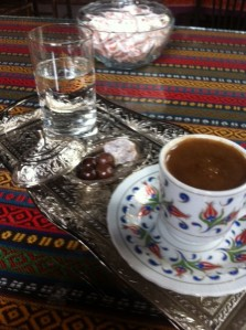 Coffee at Gamasuk in Amasya