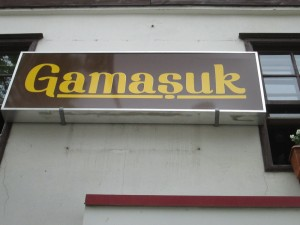 Gamasuk for coffee in Amasya