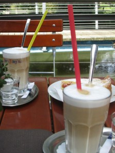 Coffee at Inselblick in Lungsdorf