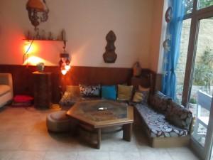 Tea lounge at Jasmine Tea House in Varna