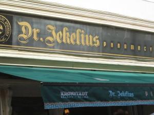 Dr Jekelius pastry shop in Brasov