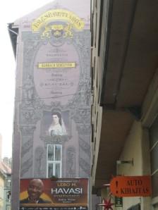 Murals in Budapest's Jewish Quarter