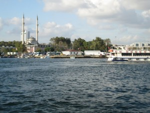 Ferry to Kadikoy on Asian side of Istanbul