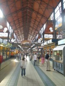 Indoor market in Budapest