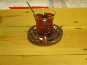 Tea in Galatasary