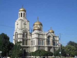 Orthodox church in Varna, Bulgaria
