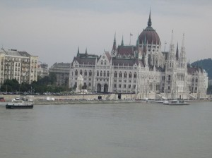 Along the Danube in Budapest