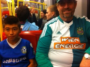 Rapid Vienna fans