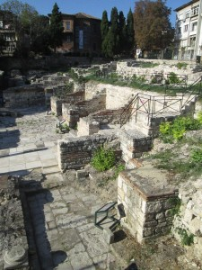Roman baths in Varna