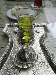 Saffron Tea in Safranbolu