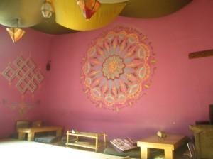 Samsara Tea House inside
