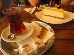 Tea in Kadikoy at Osman Bey kahvesi