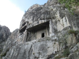 Pontic tombs in Amasya