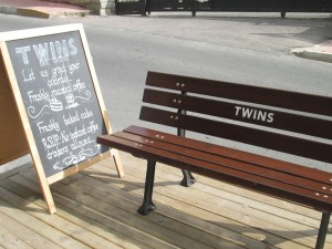 Twins coffee bar and roasters in Istanbul