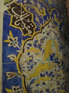 Ceramics in the Ardabil mosque