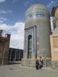 Mosque in Ardabil, iran
