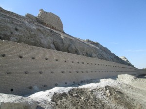 The Ark in Bukhara - before and after recent renovations