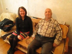Russian Red Army veteran meets Granddaughter of German Army soldier