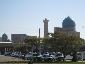Bukhara skyline