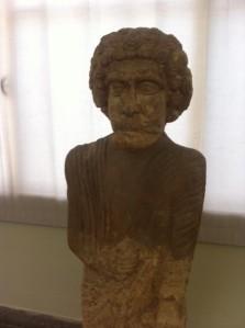 Greek teacher in Tehran archaeology museum