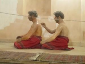 Massage in the hammam, Ardabil