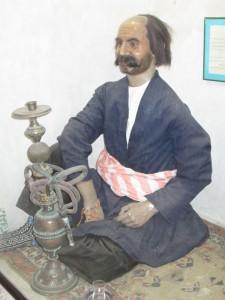 Nargile in the hammam, Ardabil