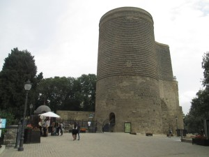 Maidens Tower in Baku