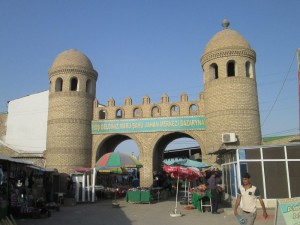 The bazaar in Mary, Turkmenistan